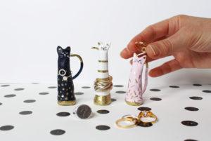 gatti porta anelli